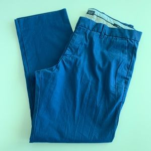GAP blue khaki pants 36x30 slim fit